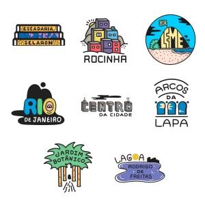 Drawings, logos for Rio!