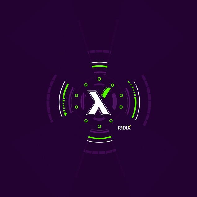Logomarca Radix