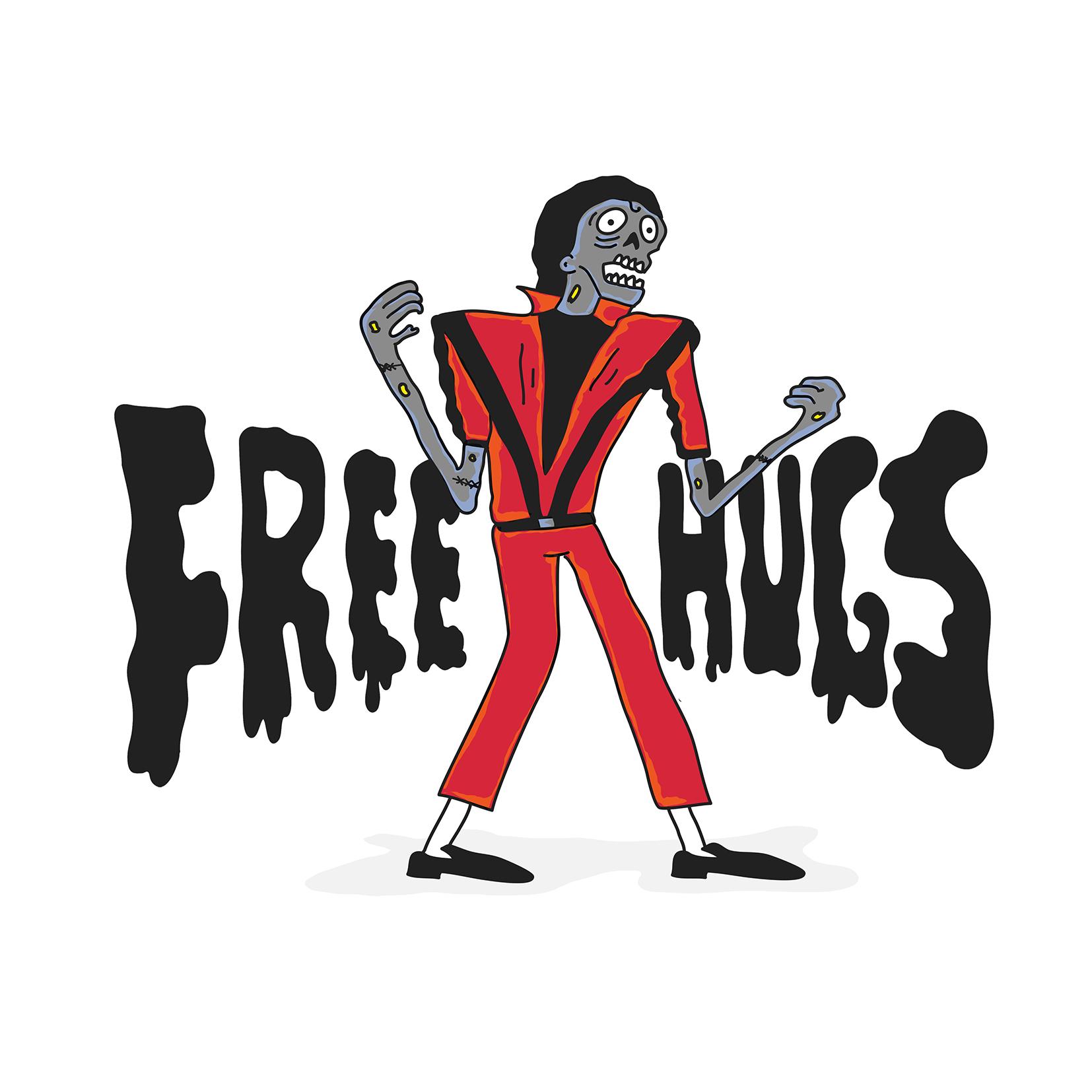 Zombie like Michael Jackson