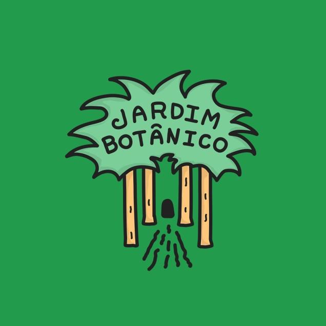 Logomarca Jardim Botânico
